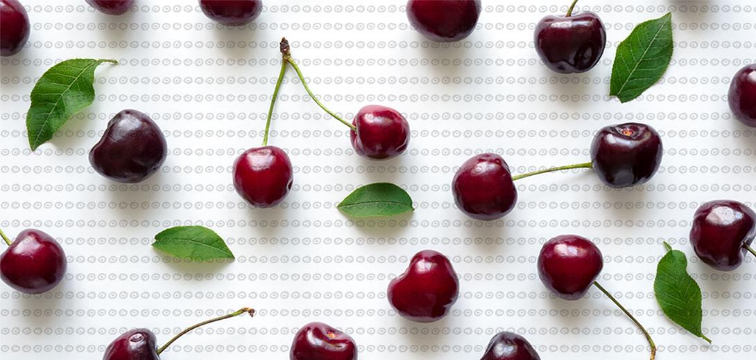 cherries pattern