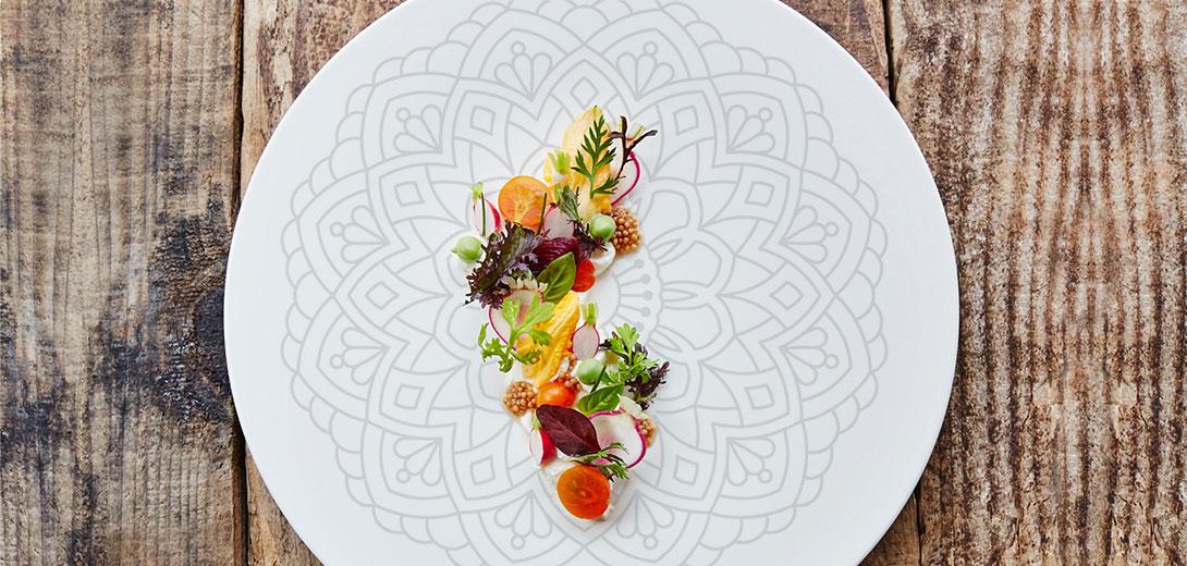 salad plate pattern